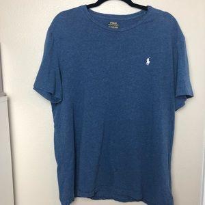 Men's Polo Ralph Lauren Basic Tee Blue XL